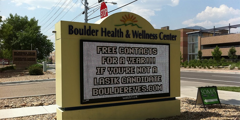 healthcare-led-sign