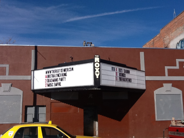 Roxy Theatre on Welton