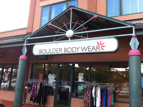 Boulder Body Wear Building  custom Sign