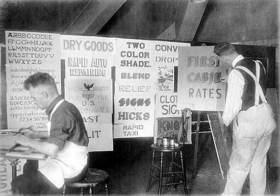 Historical Sign design