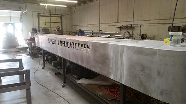 custom sign fabrication denver