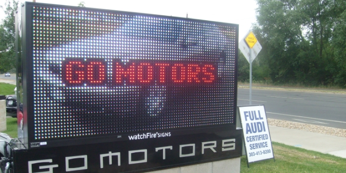LED watchfire signs for colorado