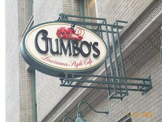 Projecting_Sign Gumbo's