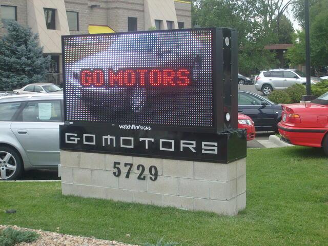 Automotive LED Display Signs Denver