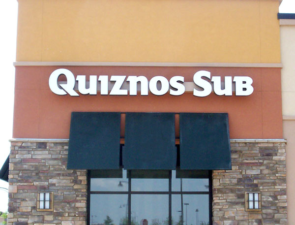 Quiznos Subs channel letter sign