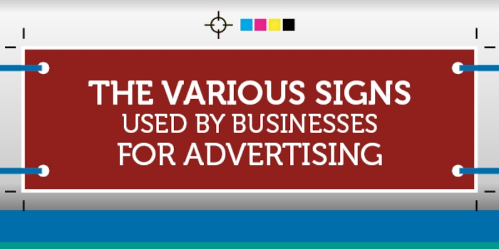 Business Signs for Advertising infographic