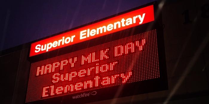Denver-led-school-signs
