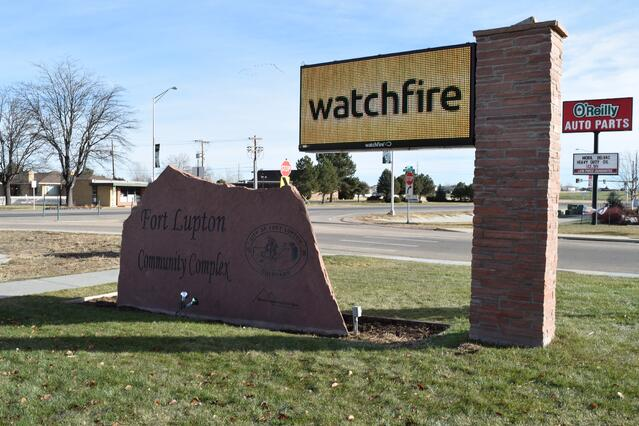City of Fort Lupton LED Sign