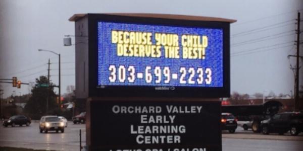 Full Color LED Signs for Business Denver