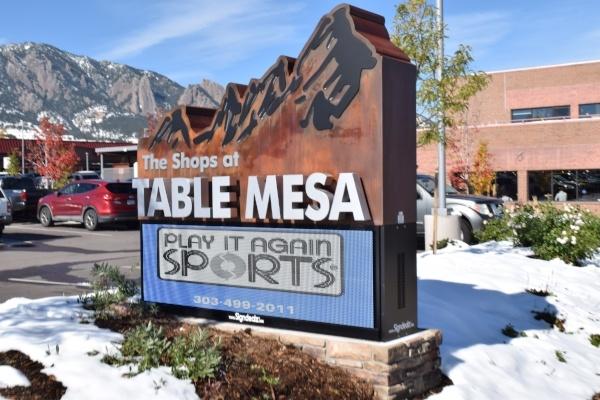 Table Mesa Monument LED Boulder Co