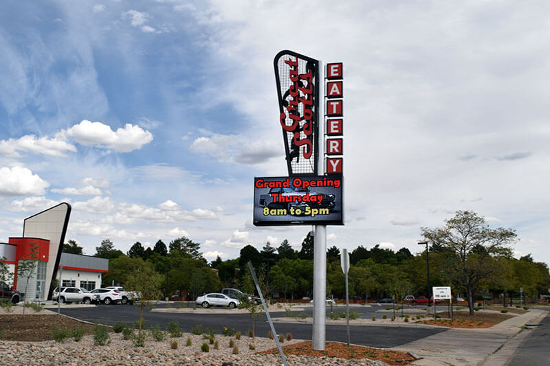 Denver Pole and Pylon Signs
