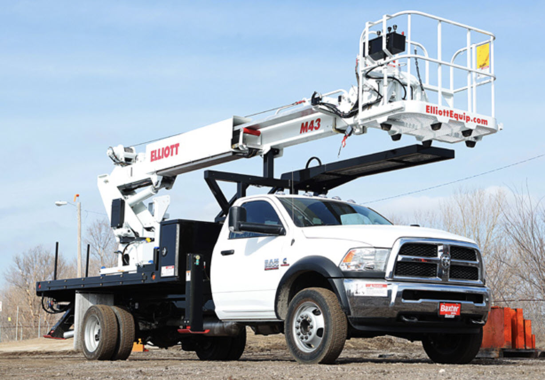 Boom Service Truck Installation