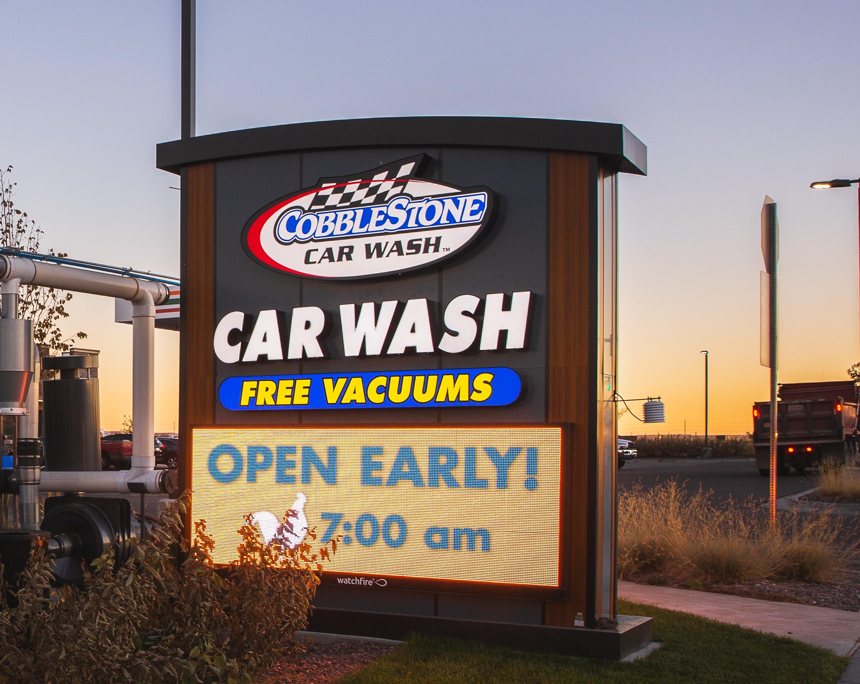 Dutch Car Wash High Resolution LED Sign