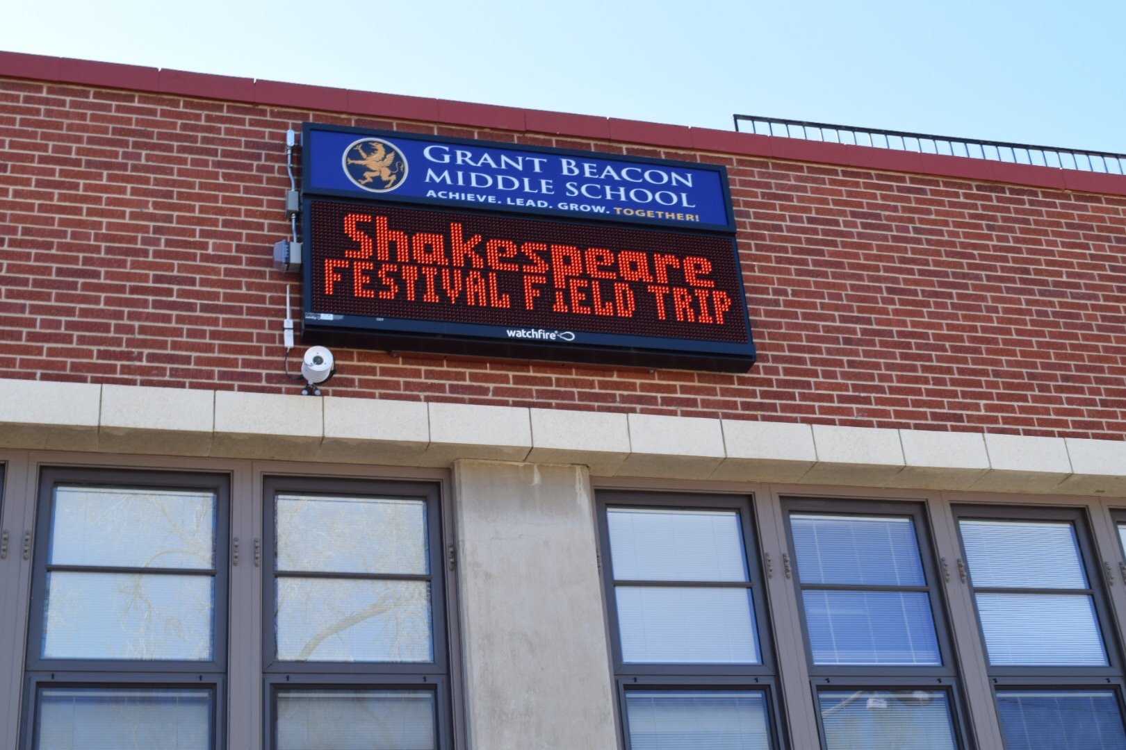 Wall Mounted LED Signs for Schools
