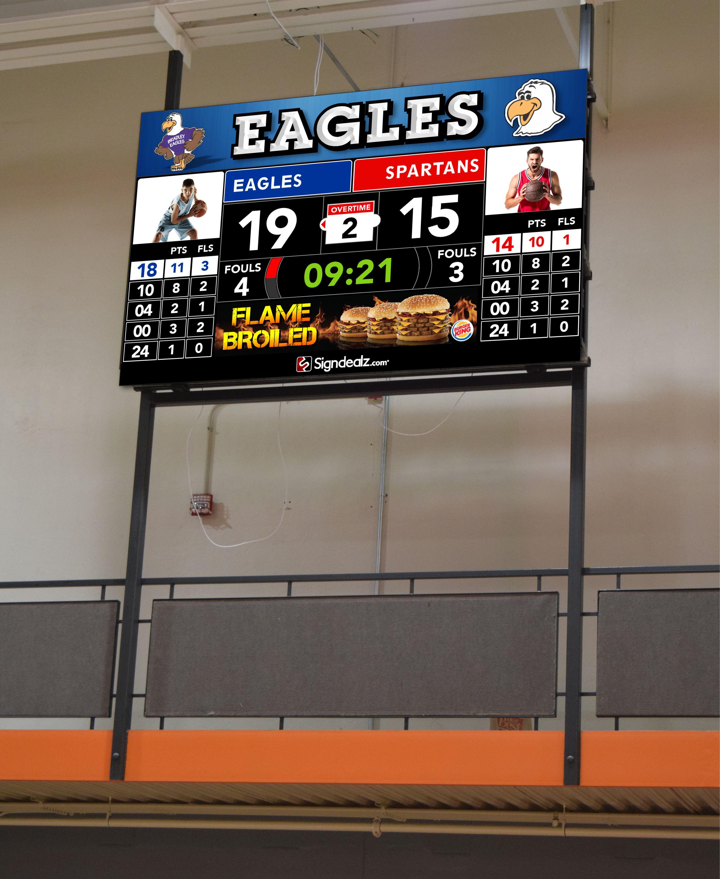 Scoreboard Sample Sign