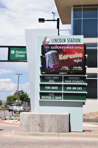 LED Signs for Multi-tenant in Lone Tree Colorado