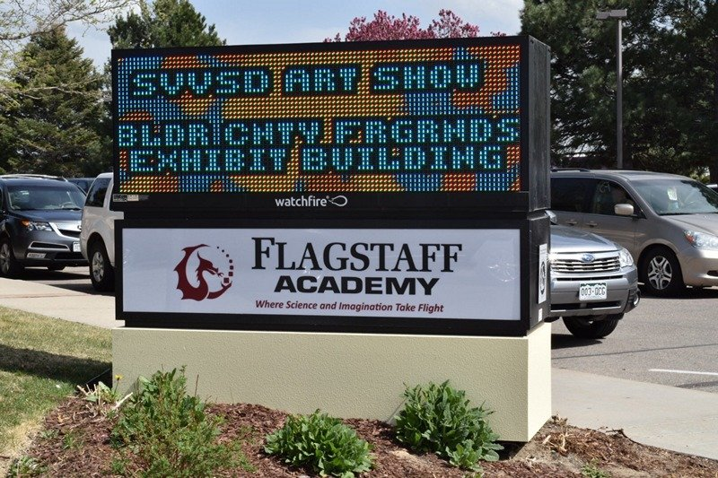 LED Sign Longmont Colorado