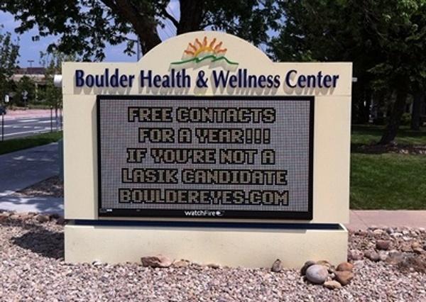 Medium Resolution Signs Boulder
